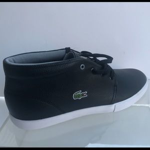 Other - NWT Leather Lacoste shoes